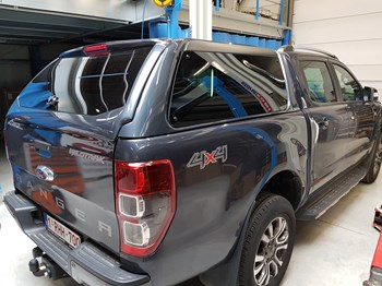 Hard top RH4 vitré Ford Ranger Double Cab 2012>