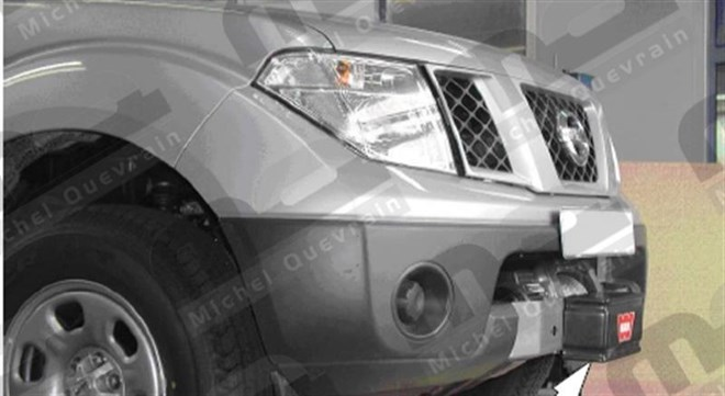 winch support Nissan D40