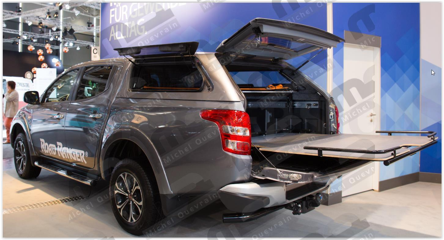 Hard Top Road Ranger Fiat Fullback