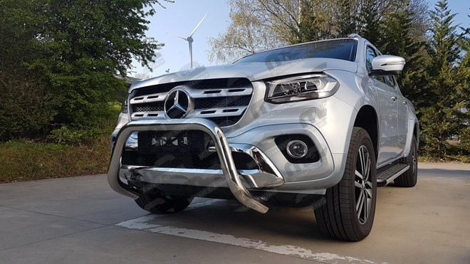 Pare buffle Mercedes classe X 76mm