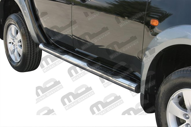 2 Side bar 60mm Nissan Np300 x-tra cab 2016>