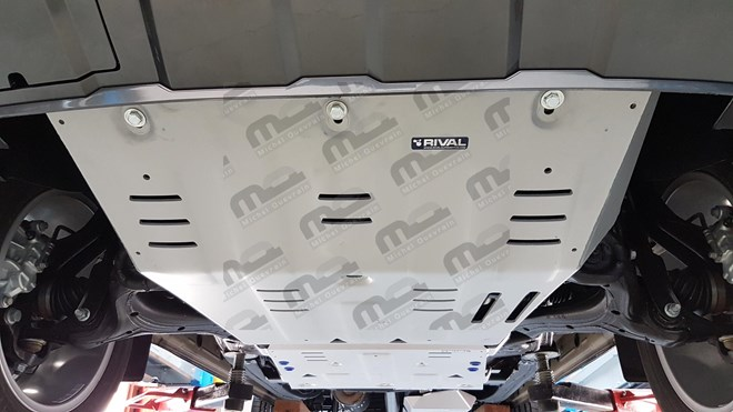 Set 3 skid plate 6 mm protection Volkswagen Amarok