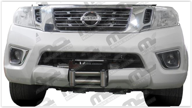 winch support Nissan Np300 2016>