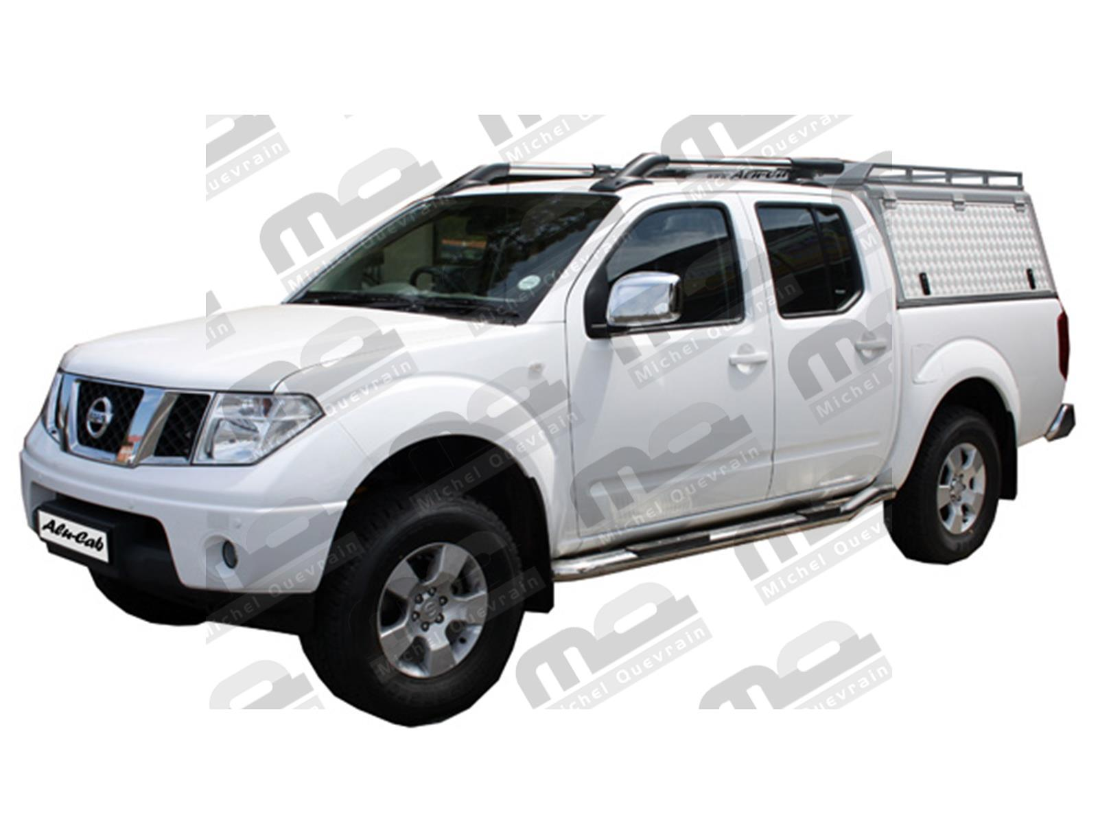 hard top aluminium nissan navara dc d40 2005. Black Bedroom Furniture Sets. Home Design Ideas