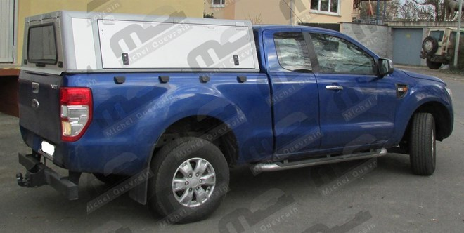 aluminium Hard top Ford Ranger XC 2012>