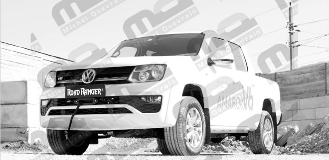 winch and support Vw Amarok V6 from 2016