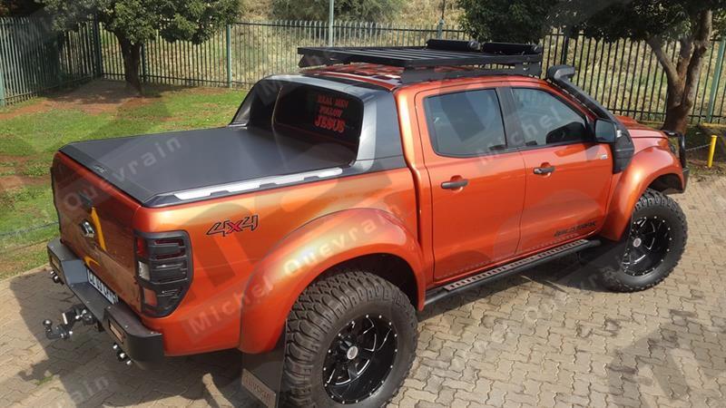 Exclusief Aluminium Deksel Voor Ford Ranger Wildtrack