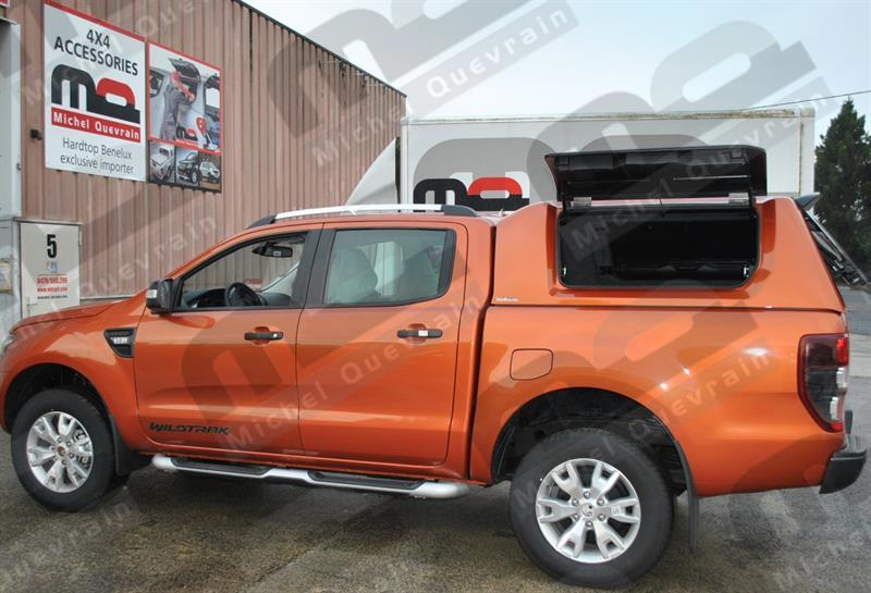 hard top rh3 gullwing painted ford ranger dc 2012. Black Bedroom Furniture Sets. Home Design Ideas