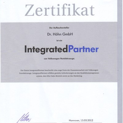 Not only the factory, but also the company MKT Car Technik Sp z o.o. is certified as the Premium Partner of Volkswagen.