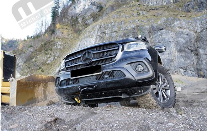 Winch system front winch Mercedes X class