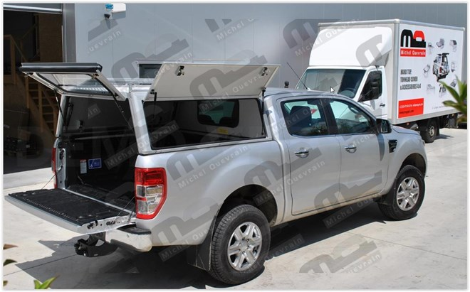 aluminium Hard top Ford Ranger DC 2012>