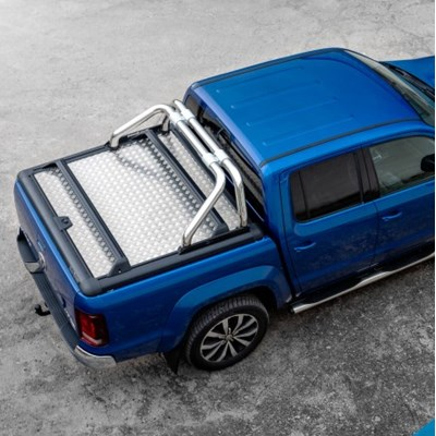 Flat aluminium covers for most pickup brands are already available at Road Ranger.