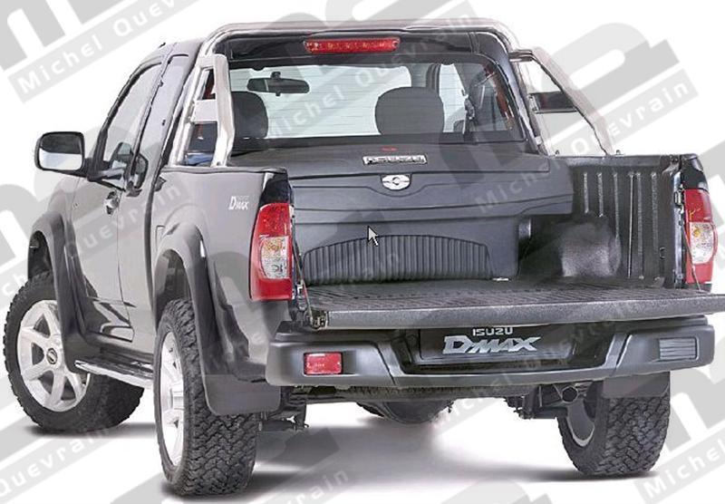 coffre de rangement Ford Ranger 2012