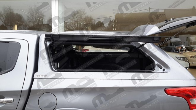 Hard Top Rh4 painted gullwing Fiat Fullback Dc '16
