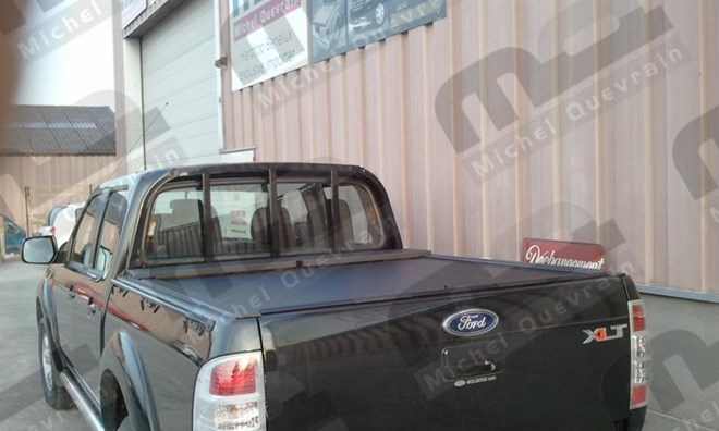 volet verrouillable Ford Ranger X-tra Cab 2012>