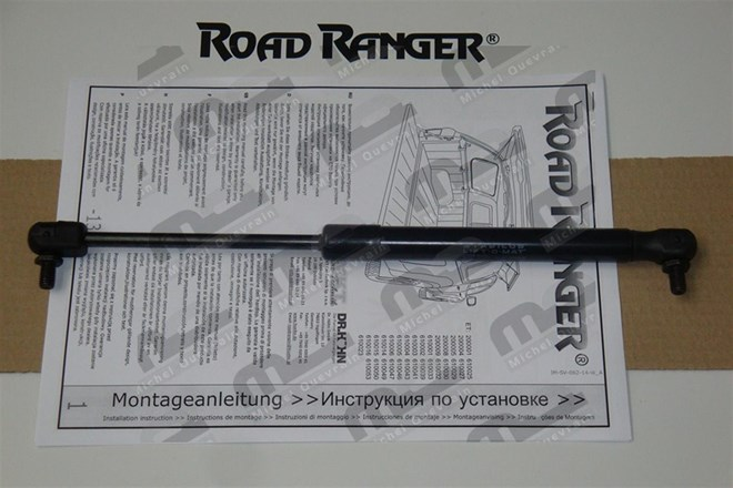 1 rear damper side door hard top Road Ranger